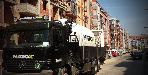 MATOX silo, Novi Sad: Dry Mortar